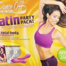 Dance Off the Inches: Latin Party Pack DVD Set with Salsa Sculpting Bars!