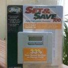 HUNTER Set & Save 5+2 Day Digital Programmable Thermostat Model #44100 A