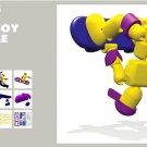 DELTA BOY EXTREME AFK30R Action Figure STIKFAS REGULAR PACK Stickfas Toy!