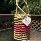 The Knotty Cod - Lobster Rope Wine Bottle Tote!