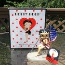 Westland 2002 Giftware Betty Boop #6942 USA American Flag Figurine NEW in BOX!