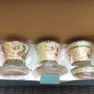 PartyLite Garden Lite Flower Pot Trio Votive Candle Holders #P8056!