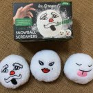 J.B. Nifty 3-pack Snowball Screamers - Have an indoor snow ball fight!
