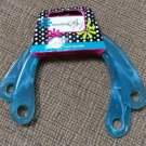 "Everything Mary Plastic U Swirl Handbag Purse Handles #QT114A - Turquoise - 7""  x  5""!"