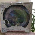 Thomas Kinkade 'Home for the Holidays' Christmas Carol Clock - 12 Traditional Christmas Carols!