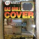"Mr. BAR-B-Q Vinyl Gas Grill Cover - 80""  x  18""  x  52"" - Elastic Bottom!"