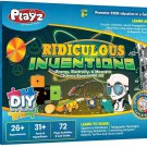 Playz Ridiculous Inventions Science Kits for Kids - Energy, Electricity & Magnetic Experiments Set!