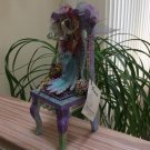 LOU SPARKS SMITH 'Mothering' The Miniature Meditation Chair Signed by Artist!