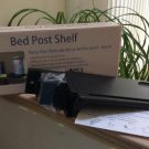 Bed Post Shelf by Yak About It - Perfect for Small Spaces, Dorm Rooms!