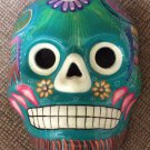 Mexican Skeleton Fiesta Dad of the Dead Ceramic Mask Wall Décor - Hand Made!