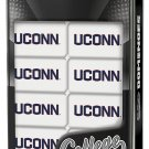 MasterPieces NCAA UCONN College Collector Edition Double Six Dominoes in Metal Tin!