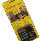 B-Sure Child Safety Warning System Alarm for Pools Cabinets Stairways Entryways Battery Operated!