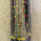 Empire State Building Pattern Gift Wrap Paper Roll by Marc Tetro - NOS!