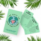100 Ways To Save The Planet  Daily Strategies Activity Guide by Gift Republic!