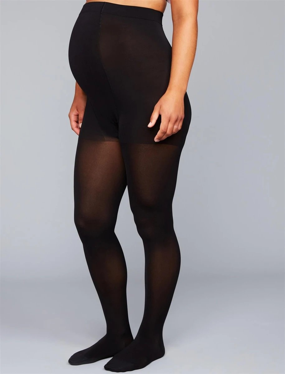 Insignia by Sigvaris Graduated Compression Maternity Tights - Size C - Black!