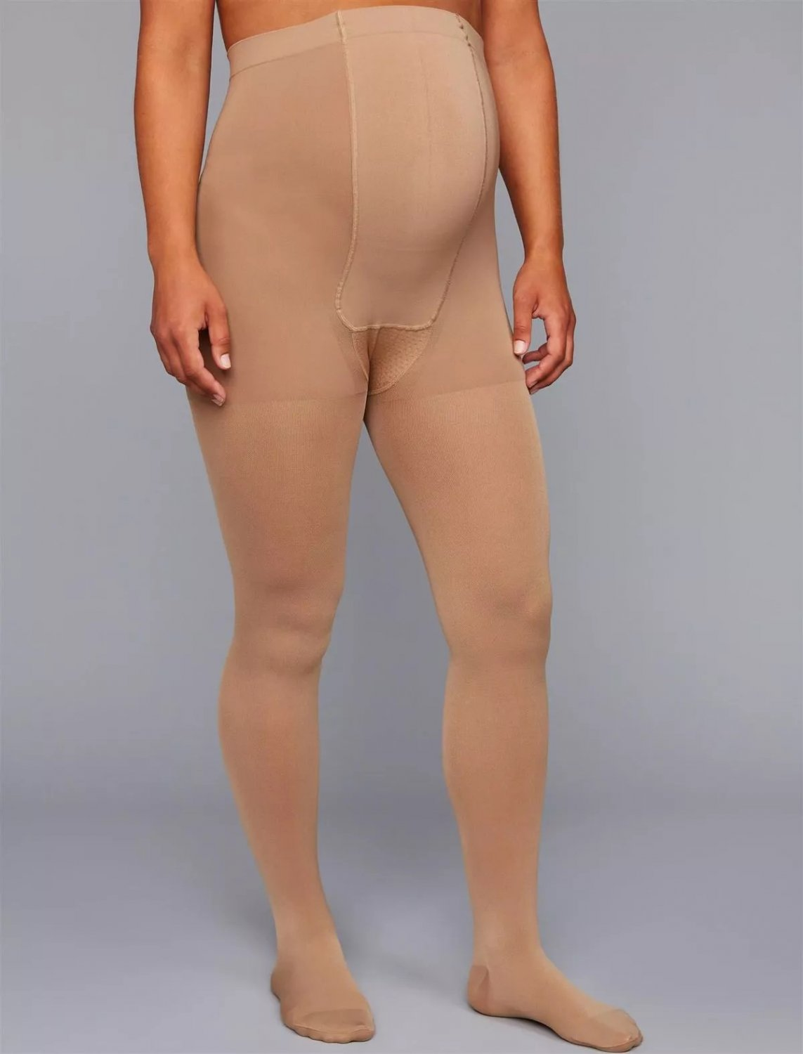 Insignia by Sigvaris Graduated Compression Maternity Tights - Size C - Nude!