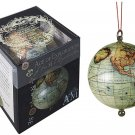 Authentic Models, The Age of Exploration Keepsake, Decorative Globe with Red Satin Hanging Ribbon!