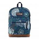 "Trans by JanSport 17"" Super Cool Mosiac Garden Backpack - Blue!"