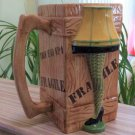 A Christmas Story 40 oz. Collector's Series Molded Ceramic Leg Lamp Mug by ICUP!
