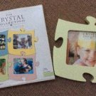 Interlocking Puzzle Piece 6 x 5 Picture Photo Frame by The Crystal Collection - GREEN!