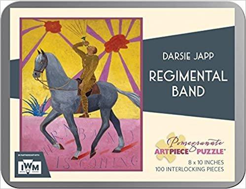 Pomegranate Art Piece Puzzle Darsie Japp 'Regimental Band' 100 Pieces in Tin!