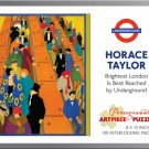 Pomegranate Art Piece Puzzle Horace Taylor 'Brightest London is Best Reached by Underground' 100 Pc!