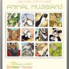 Pomegranate Art Piece Puzzle Janelle Dimmett 'Animal Musicians' 100 Piece in Tin!