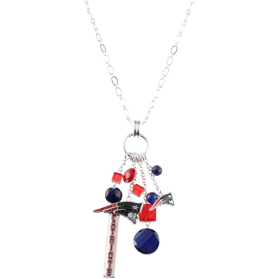 NFL New England Patriots Logo Cluster Necklace - NWT!