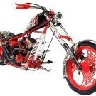 Orange County Choppers American Chopper Series: Black Widow - 1:10 Scale Die-Cast!