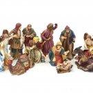 Grandeur Noel Collectors Edition 1999 Nine Piece Porcelain Nativity Set - New in Box!
