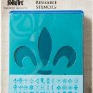 FolkArt 30620E Paper Stencil Value Pack, Decorative Icons, 4 in x 3 in, 48 Piece!