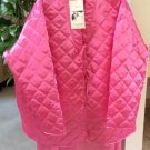 SUZANNE SOMERS Loungewear Collection - Quilted Jacket & Maxi Skirt Set - Size 2X - Pink - NWT!