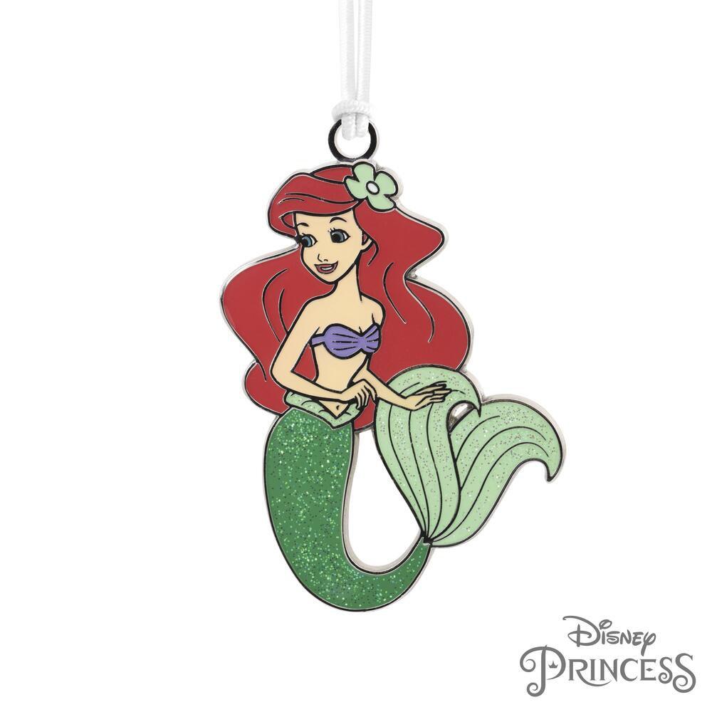 Hallmark® Disney The Little Mermaid Ariel Metal Christmas Ornament #2HCM8609!
