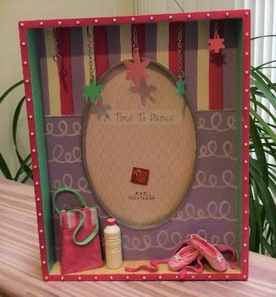 Russ Berrie 'A Time To Dance' Ballerina Tabletop Photo Frame 4 x 6!