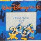 "Walt DisneyWorld 2000 4"" x 6"" Laminated Picture Frame - New Old Stock!"