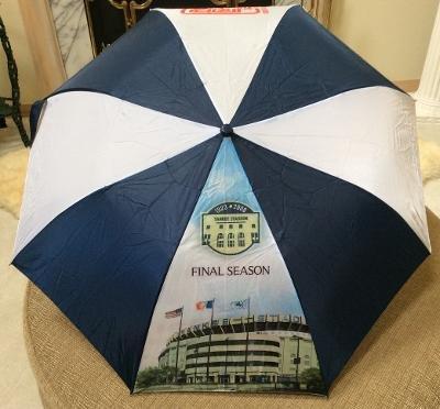 New York Yankees SGA Final Season Umbrella from J & R Music World - NWOT!