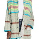 Free People Fair Weather Cardigan Style #OB1032729 - Color 'Mint Haze' - Size XL - NWT!