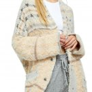 Free People Fair Weather Cardigan Style #OB1032729 - Color 'Naturalle' - Size XL - NWT!