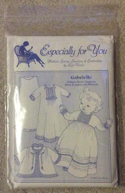 Especially for You 'Gabrielle' Daygown, Dress & Jacket and Petticoat Pattern by Lyn Weeks!