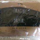 Rae Dunn Face Masks - Reusable Set of 2 - IMAGINE/DREAM Design - Soft Fabric Cloth!