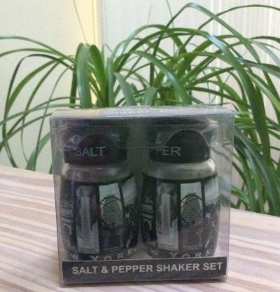 Iconic Landmark New York City Salt & Pepper Shaker Set by City Merchandise!