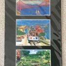 San Francisco Montage Watercolor Prints signed by Artist Carlos Cuzma #1!
