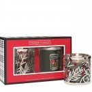Yankee Candle Christmas Wreath Tumbler Holly Tumbler Sleeve Gift Set Mistletoe!