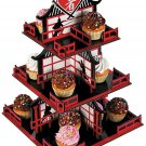 Ninja Cupcake Stand (3 tiers) Ninja Birthday Party Supplies!