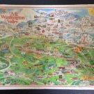 Vintage Mt. Washington Valley 1000 piece Jigsaw Puzzle by White Mountain Graphics - SEALED!