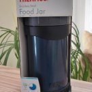 Thermos Stainless Steel Wide Mouth Food Jar with Folding Spoon, 16oz, Blue!
