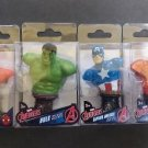 Marvel Avengers Comics 4 Pc Paperweight Set Spider-Man. Hulk. Captain America, Iron Man Statue!