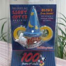 Walt Disney World 100 Years of Magic Sorcerer's Hat Holiday Christmas Light Cover Ornament!