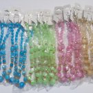 Wholesale Fashion Jewelry Multi Shape Marbleized Bead Necklace/Earring Sets-Lot of 12/3 pc. Sets #6!