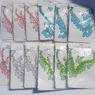 Wholesale Fashion Jewelry Teardrop Multi Layer Bib Necklace & Earring Sets-Lot of 12/3 pc. Sets #11!